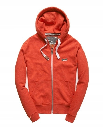 SUPERDRY___ORANGE LEBEL _BLUZA DRESOWA_L