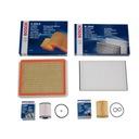 Filtry BOSCH zestaw 4szt OPEL ASTRA H III 1.7 CDTi