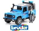 Bruder 02597 policja z figurką zabawka światło dźw