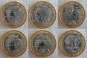 JAN PAWEŁ II zestaw 5 monet bimetale - rzadkie