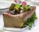 PASZTET dworski z pistacjami - domowy