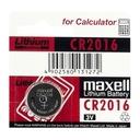 5x CR2016 BATERIA LITOWA MAXELL Japan DL2016 2016