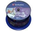 VERBATIM DVD+R 4,7GB FOTO PRINTABLE 100szt PROMO !