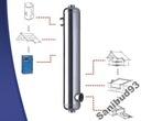 Príslušenstvo k bazénu - Bazénový výmenník tepla B1000 SECESPOL