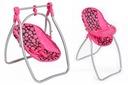 Huśtawka + krzesełko dla lalek 2w1 PlayTO IZABELA