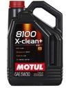 OLEJ MOTUL 8100 X-CLEAN+ 5W30 5L TANIE FILTRY