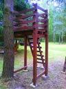 Detské ihrisko, príslušenstvo - tyrolka lanovka rampa tarzan mazowieckie detské ihrisko