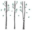 наклейки на стену березы деревья лес наклейка 250