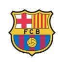 Naklejki piłkarskie FC BARCELONA na ścianę 100cm!