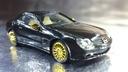 148078 C Mercedes-Benz SL Czarny Złoty 1:87 HO