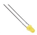 Dioda LED 3mm  komplet 10szt  20mA żółta