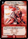 *DM-01 DUEL MASTERS - FATAL ATTACKER HORVATH - !!!