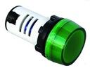 KONTROLKA ZIELONA LED 230V AC TORUŃ NOWA FV / GW