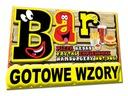 PUB BAR restauracja SZYLD REKLAMOWY 2m/1m reklama