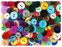 GUZIKI kolorowe 2 wielkości - 200 sztuk / 6,00 zł