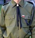 Bluza harcerska zielona ZHP, mundur harcerski 146