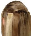 40cm Dopinka treska włosy naturalne CLIP IN on 35