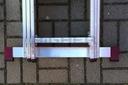 Drabina aluminiowa 3x8 KRAUSE CORDA 5,40m 030382 Możliwość rozstawienia przystawna rozkładana rozsuwana