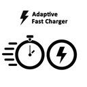 Galaxy A7 2018   ORYGINALNA Ładowarka siec SAMSUNG Zgodność ze standardem Quick Charge 1.0 Quick Charge 2.0