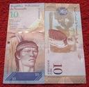 BANKNOT 10 BOLIVARES 2007 ROK WENEZUELA !!! UNC