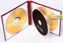 etui ślubne ślub na 3 płyty dvd pudełko skóra cd