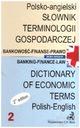 Słownik terminologii gospodarczej 2 polsko-angiels