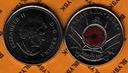 KANADA /KM-510/ 25 CENTS 2004 P Czerwony Mak