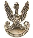 Przypinka duża z orłem wzór 1919 3 kolory Rogatka