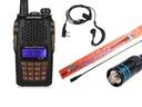 Baofeng UV-6R Radiotelefon PMR Duobander + NAGOYA