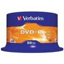 Płyty DVD-R VERBATIM AZO 4,7GB 16x cake 50szt
