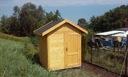 Domek drewniany ogrodowy narzędziowy altana