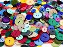 GUZIKI 3 wielkości-200 sztuk-zestawy kolorystyczne