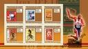 Olimpiady letnie na znaczkach Gwinea ark** GU0968a