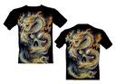 Koszulka świecąca DRAGON ROCK CHANG GR595 S - XXL