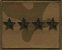 55 Stopień Wojskowy Dystynkcja WZ 93 obwódka khaki