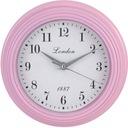 Zegar różowy SCANDI  23 cm