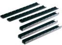 LISTWY zatrzaskowe zamykane 15mm do 110kart czarne