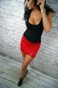 LipMar sexowna spódniczka mini kolory S 36 Zapięcie brak