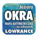 Jezioro Okra mapa na echosondy Lowrance Simrad BG