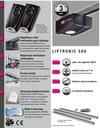 Привод ECOSTAR LIFTRONIC 500 +планка+два пульта ду RSC 2