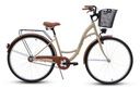 Damski rower miejski GOETZE 28 eco damka + kosz Hamulce V-brake torpedo