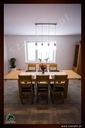 Dębowy stół rozkładany 160/85 dąb natura Materiał blatu drewno