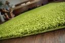 DYWAN SHAGGY 5cm zielony 40x100 gładki jednolity Grubość 50 mm