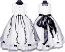 Sukienka tiulowa BETI wesele Producent bł 134/140 Kolor biały czarny czerwony fioletowy niebieski różowy wielokolorowy inny kolor