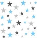 наклейки__ на_ стену звезды комплект 153 штуки