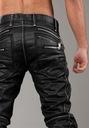 Cipo Baxx Spodnie Jeansy Woskowane Western Motor Marka Cipo Baxx