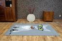 REWELACYJNY DYWAN FLASH 120x170 PIES OKULARY #B044 Szerokość 120 cm