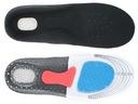 Sportowe wkładki do butów na ostrogi piętowe Płeć Produkt męski