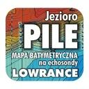 Jezioro Pile mapa na echosondy Lowrance Simrad BG