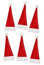 czapka Mikołaja na sztućce i butelki dekor 6 sztuk Marka Udekoruj